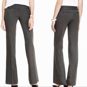 Express Editor Dress Pants Dark Gray Bootcut Long